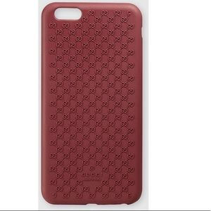 NWT❤️Gucci❤️iPhone 6 plus case in Red. authentic